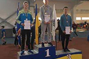 Тернопільський легкоатлет Максим Пупко – бронзовий призер чемпіонату України з легкої атлетики з двоборства