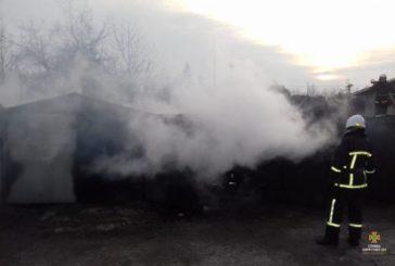 У Тернополі горіли гаражі (ФОТО)