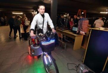 Тернопільський студент вигадав власну модель електровелосипеда (ФОТО)