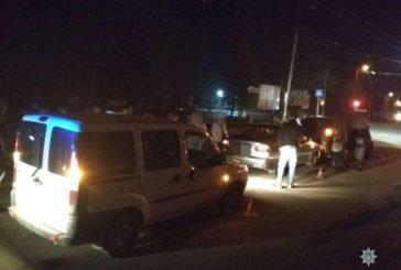 П'яний тернополянин вчинив аварію, а після того хуліганив та облаяв поліцейських (ФОТО)