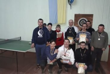 Визначились чемпіони області з армспорту серед спортсменів з інвалідністю