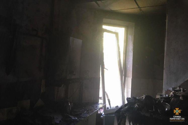 У Бережанах мало не згорів будинок, але кухня вигоріла