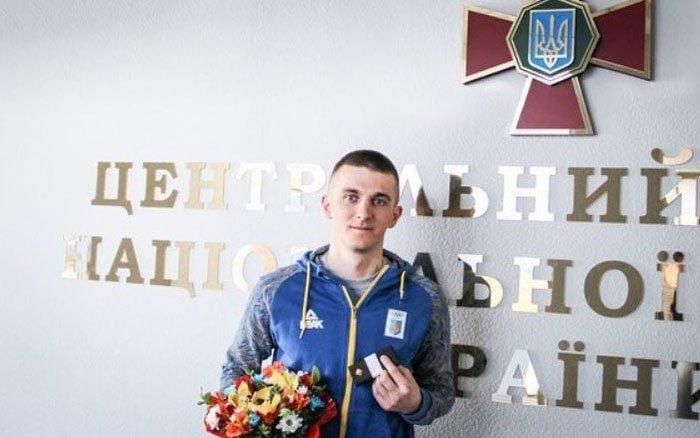 Тернопільський біатлоніст Дмитро Підручний отримав звання молодшого лейтенанта в Нацгвардії України