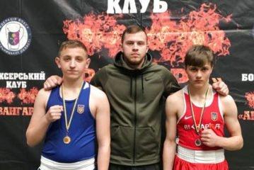 Тернополяни зібрали увесь комплект нагород на чемпіонаті України з боксу