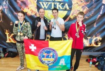 Кременецькі кікбоксери привезли з Дніпра «золото», «срібло» і «бронзу» (ФОТО)