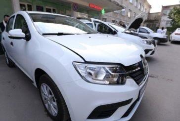 Для Тернопільської міської дитячої комунальної лікарні закуплено два новеньких автомобілі (ФОТО)