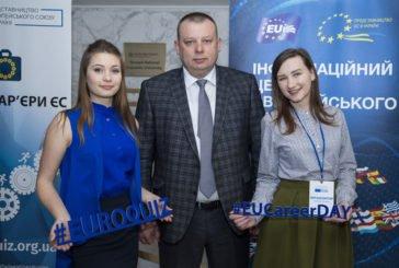 У ТНЕУ відбувся День кар'єри ЄС (ФОТО)