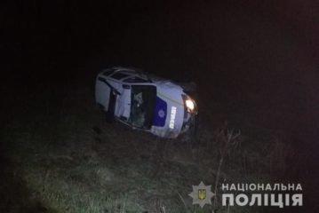 Справу про ДТП на Тернопільщині за участю поліцейського авто передали до прокуратури