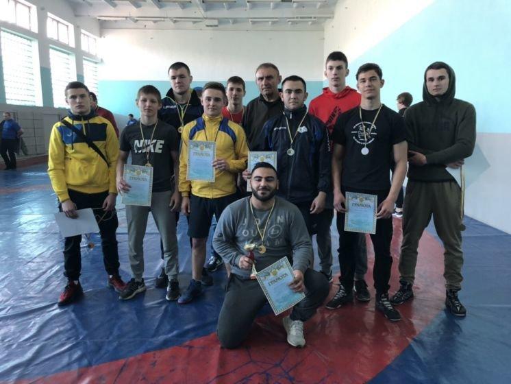 Команда ТНЕУ – переможець відкритої Універсіади з греко-римської боротьби (ФОТО)