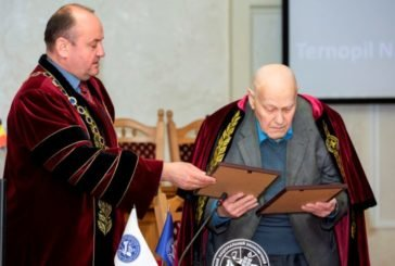 Колишньому ректору Олександрові Устенку присвоїли звання «Почесний професор Тернопільського національного економічного університету» (ФОТО)