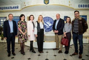 ТНЕУ відвідала делегація представників Спеціальної моніторингової місії ОБСЄ в Україні (ФОТО)