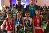 Юні тернопільські боксери привезли дві золотих, одну срібну і одну бронзову медалі з турніру на Черкащині