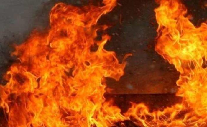 На Теребовлянщині через сміття загорівся продуктовий магазин
