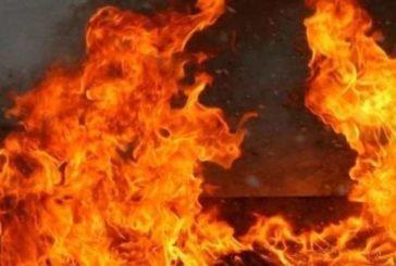 У Підволочиському районі виникла пожежа на території приватного підприємства