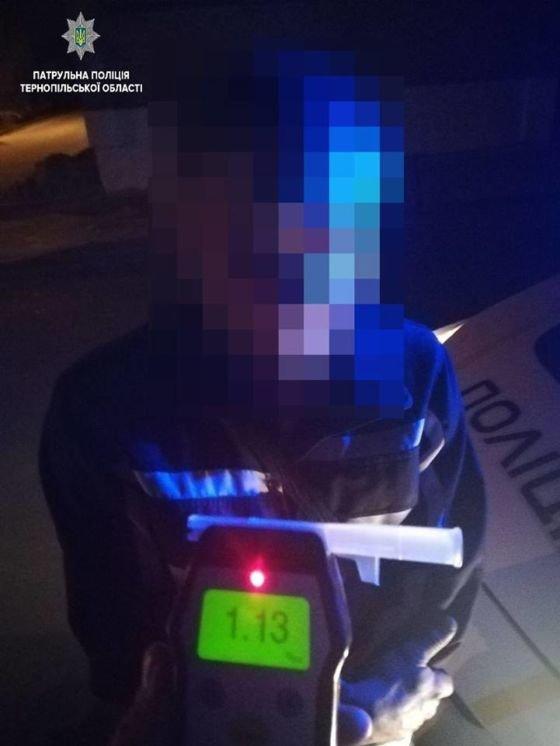 Тернопільським патрульним знову попалися двоє п'яних водіїв (ФОТО)