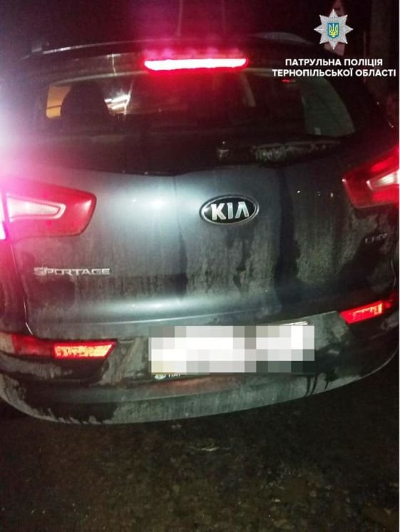 П'яна тернополянка роз'їжджала нічним містом на «Kia Sportage»