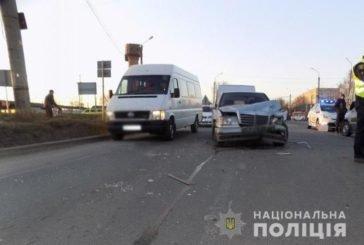 Забої, переломи та травми – результат п'яти аварій на Тернопільщині (ФОТО)
