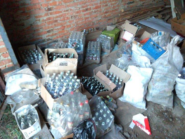 У Бережанському та Козівському районах виготовляли «підпільний» алкоголь. Вилучили «добра» на мільйони гривень (ФОТО)