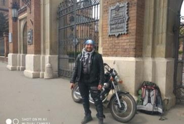 У пошуках привидів і пригод: тернопільський мандрівник об'їхав на мотоциклі наймістичніші місця Молдови (ФОТО)
