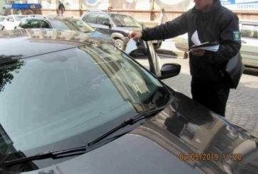 У Тернополі водіям винесли майже 900 адмінпостанов за паркування в заборонених місцях