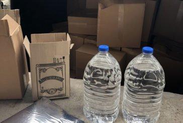 Житель Бережан хотів переслати кур'єрською службою 3000 літрів спирту і 210 літрів підробленого алкоголю (ФОТО)