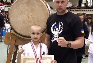 Юний тернополянин став призером чемпіонату Японії з кіокушин-кан карате