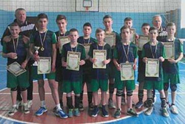 Чемпіонат області з волейболу серед юнаків 2006-2007 років народження виборола команда Теребовлянської ДЮСШ