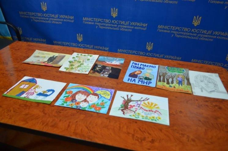 Конкурс шкільних малюнків «Я маю право»: хто переміг на Тернопільщині? (ФОТО)