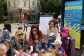 У Тернополі, під час наукових пікніків, фахівці міськрайонного центру зайнятості ознайомлювали дітей з професіями (ФОТО)