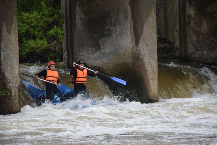 На Тернопільщині відбулись відкриті обласні змагання з водного туризму