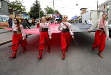 Урочистою ходою у вишиванках в Тернополі відзначили День Героїв України (ФОТОРЕПОРТАЖ)