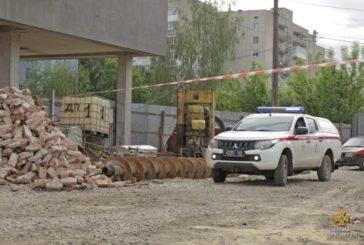 У центрі Тернополя знешкодили авіабомбу, часів Другої світової війни (ОНОВЛЕНО. ФОТОРЕПОРТАЖ)