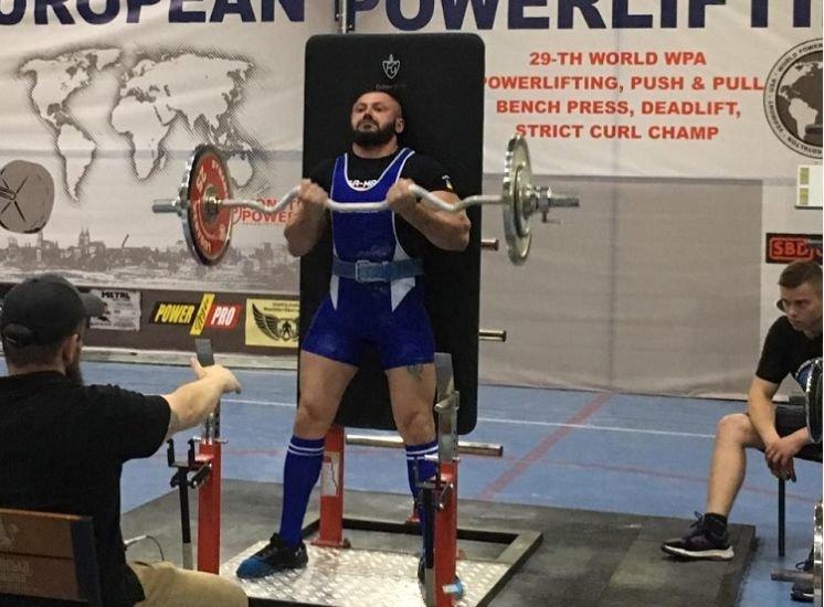 Уродженець Тернопілля здобув золото на чемпіонаті світу з пауерліфтингу