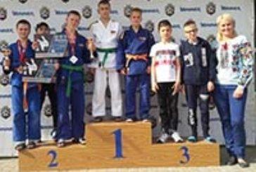 Юні тернопільські дзюдоїсти привезли з Київщини одну срібну і три бронзових медалі