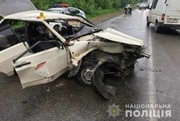 У ДТП на Тернопільщині з понівечених авто врятували троє людей (ФОТО)