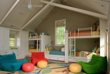 Идеальный дом с использованием бескаркасной мебели