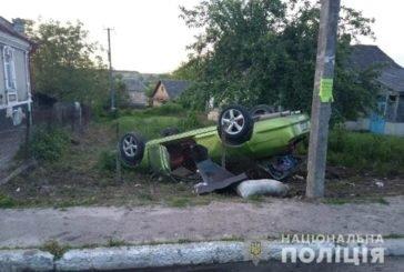 Чергова аварія в Шумську: водій з переломаними ребрами сам прийшов у лікарню (ФОТО)