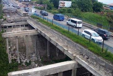 На Гаївському перехресті в Тернополі встановили нові «габаритні ворота» (ФОТО)