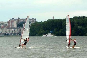 На Тернопільському ставі стартує чемпіонат України з віндсерфінгу