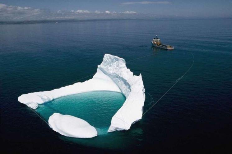 З Антарктики до Африки переправлять айсберг, щоб напоїти людей