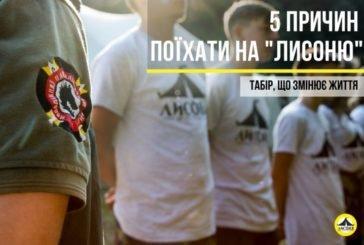 5 причин поїхати на «Лисоню» – табір на Тернопільщині, що змінює життя