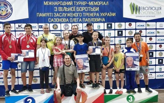 Тернопільські борці вільного стилю отримали п'ять нагород під час Міжнародного меморіалу