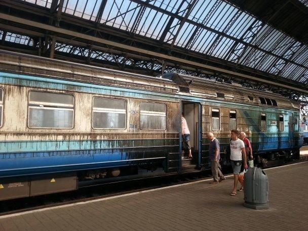 За жахливі поїзди пригрозили звільненням