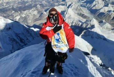 Герб Тернополя замайорів на найвищій вершині земної кулі – на Евересті в Гімалаях (ФОТО)