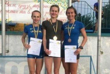 Тернопільські легкоатлети здобули на чемпіонаті України дві золотих і одну бронзову нагороди