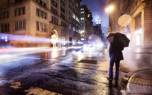 Самотня душа у великому місті