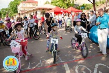 У Тернополі, в дитячих велоперегонах «Круті віражі», змагалися 75 учасників (ФОТО)