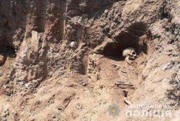 У Чорткові на місці будівництва меморіалу, виявили людські рештки