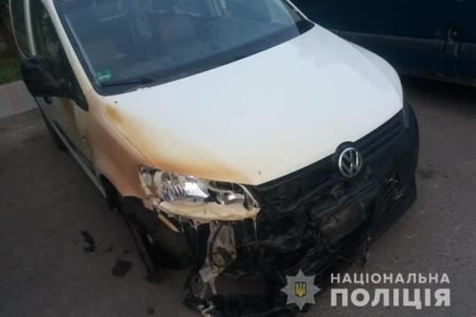 У Тернополі вночі горіли три автомобілі (ФОТО)