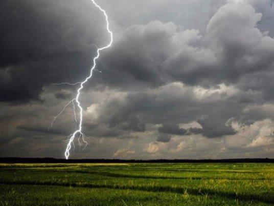 Рятувальники попереджають: на Тернопільщині очікуються короткочасні дощі, грози, подекуди град